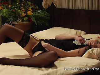 Gorgeous Busty Lesbian Maid Orgasming And Moaning Hard