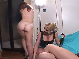 Daphnes Lesbian Assfuck and ATM in an NYC Loft